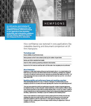 Case Study Hempsons-Solicitors