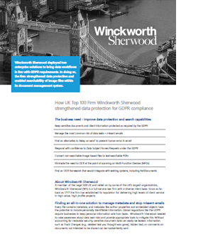 Case Study Winckworth-Sherwood